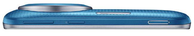 Imagen lateral del Samsung Galaxy K Zoom