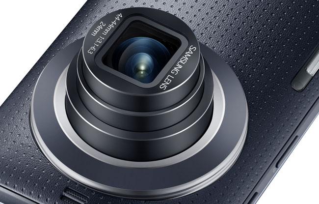 Objetivo del Samsung Galaxy K Zoom