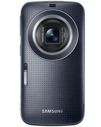 Parte posterior del Samsung Galaxy K Zoom