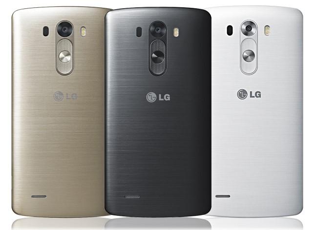 Carcasa trasera del LG G3
