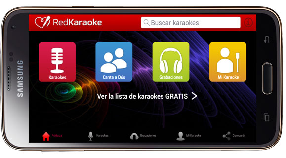 Interfaz de Red Karaoke