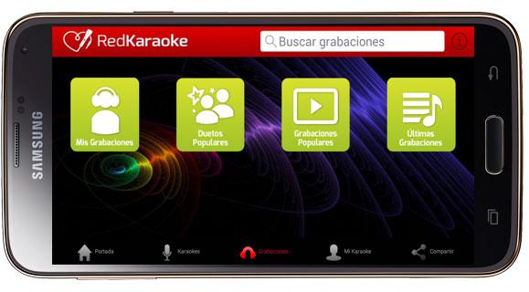 Opciones de Red Karaoke