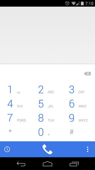 Aplicación Teléfono de Android 4.4.3