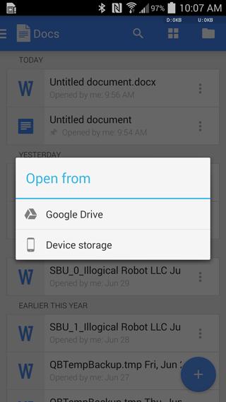 Posibilidades de Documentos de Google