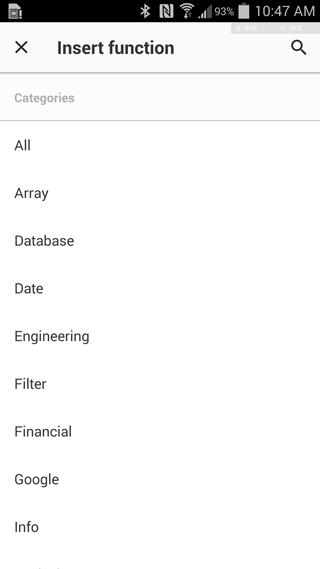 Novedades en Hojas de cálculo de Google