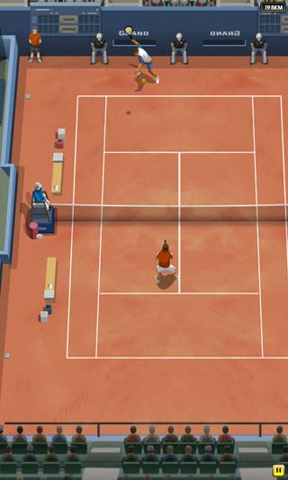 Jugando a Pro Tennis 2014