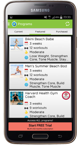 Social Workout Trainer