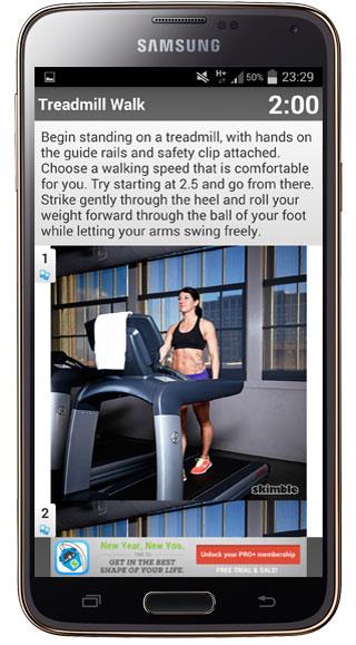 Explicación Workout Trainer