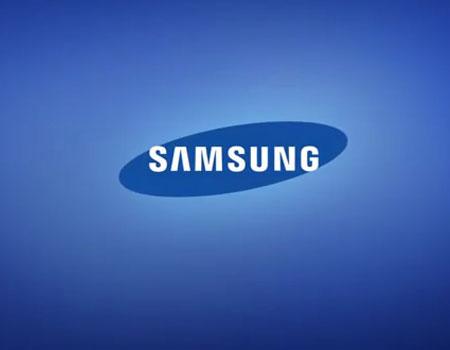 Apertura con el logo de Samsung