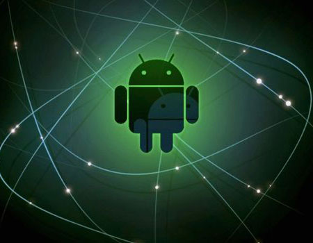 Apertura logotipo de Android