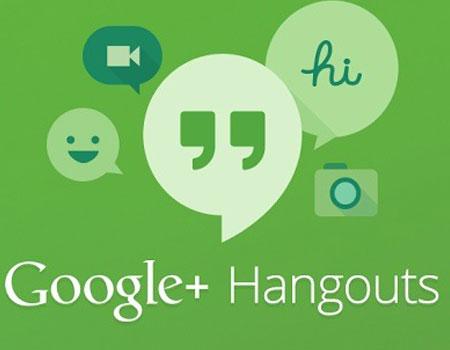 Apertura aplicación hangouts