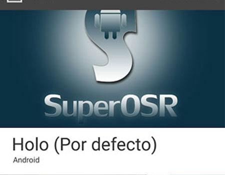 Apertura de la ROM SuperOSR