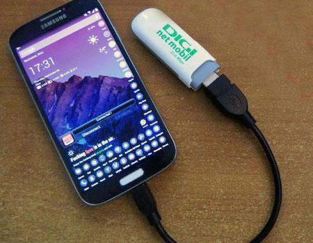 Modem-USB-Android