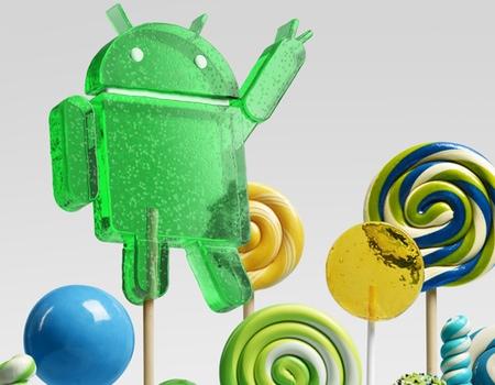 Android 5.0 Lollipop Portada