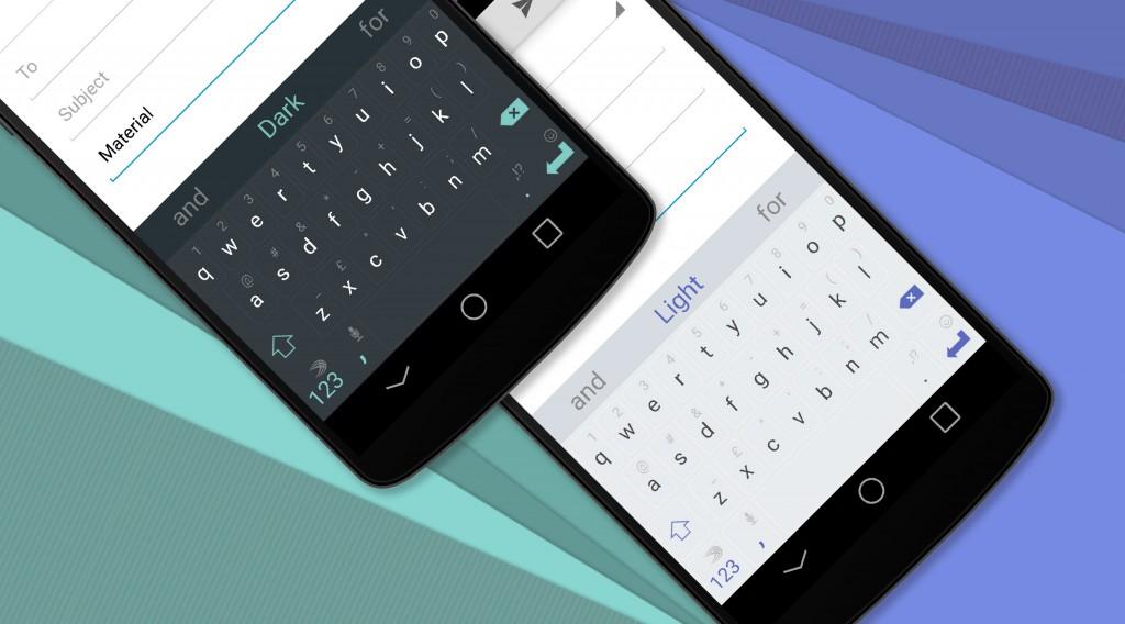 Nuevos teclados para Swiiftkey compatibles con material Design