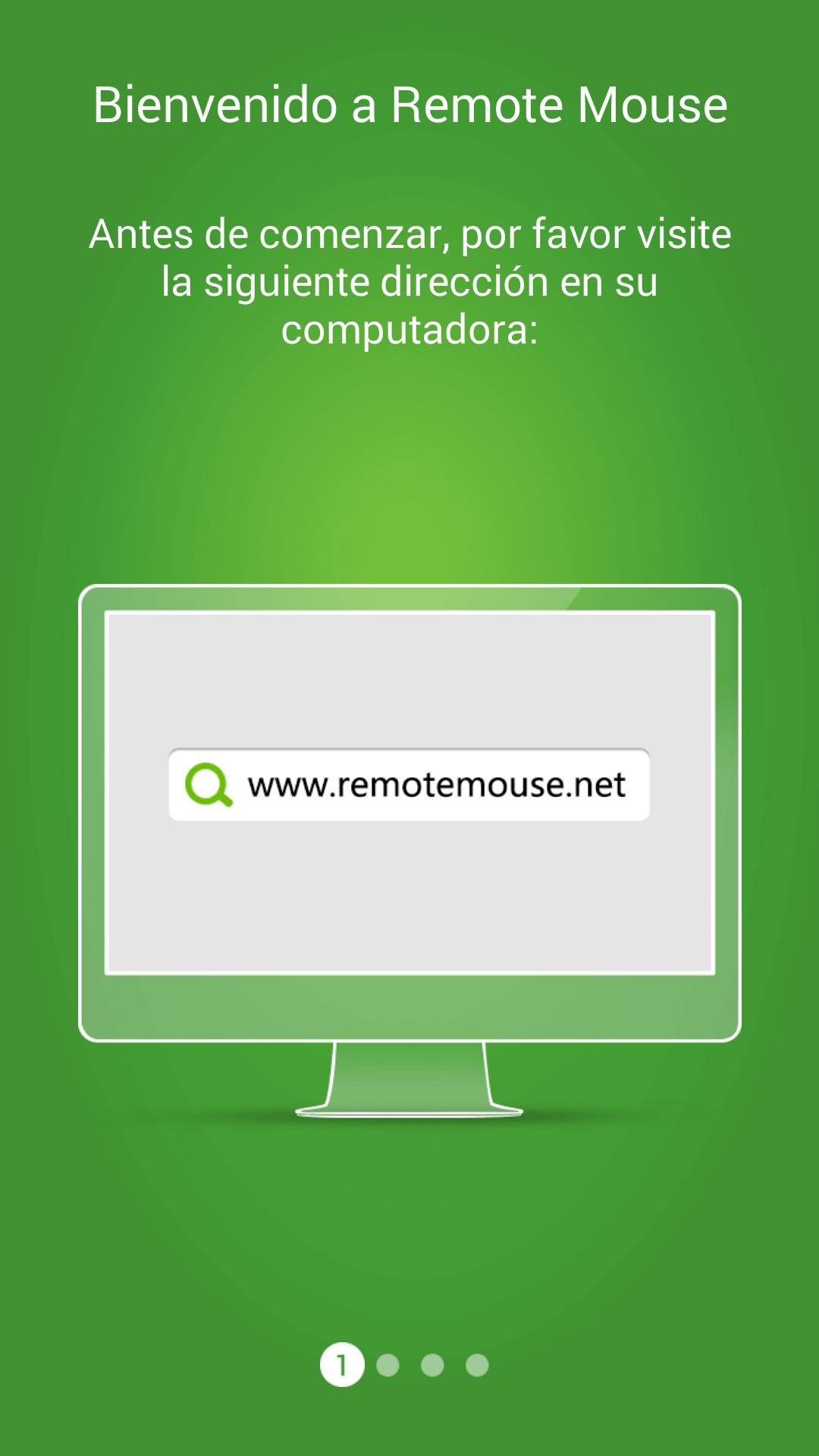 Aplicaicón Remote Mouse que permite utilizar tu teléfono Android como un ratón inalámbrico