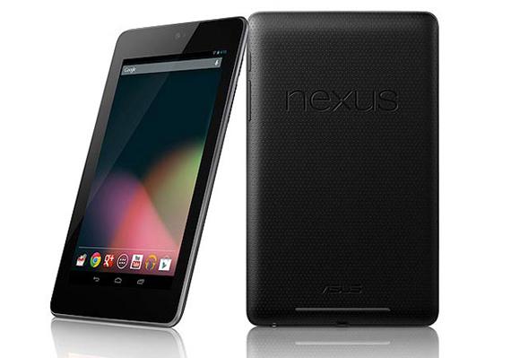 tablet Nexus 7 del año 2012