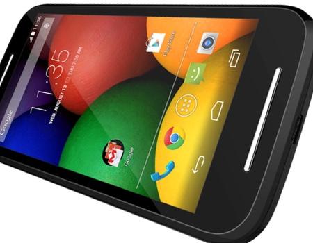 Motorola Moto E2 Portada