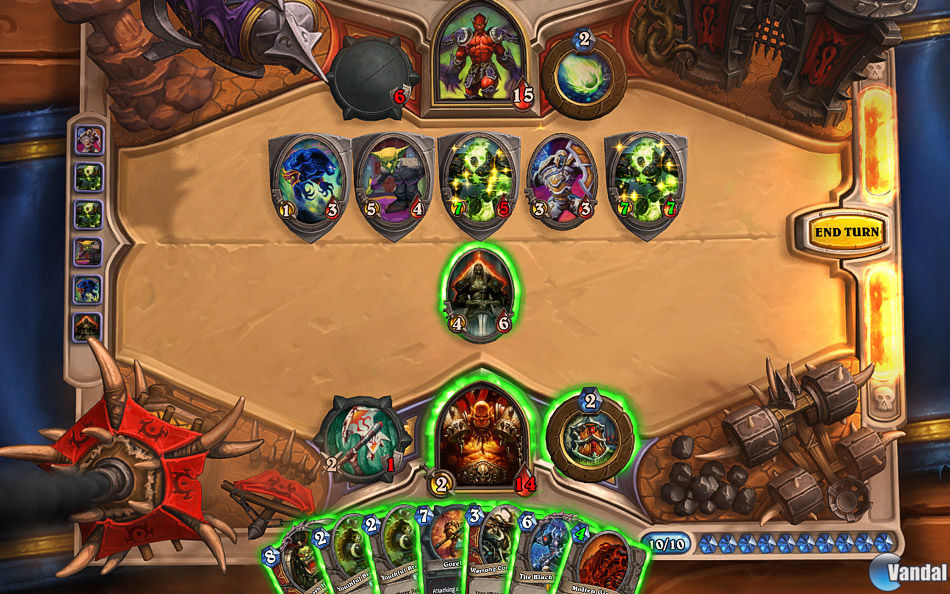 Juego Android Hearthstone Heroes of Warcraft