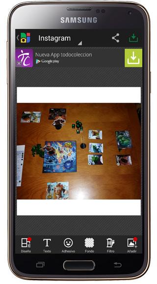 Edición en Photo Grid – Collage Maker
