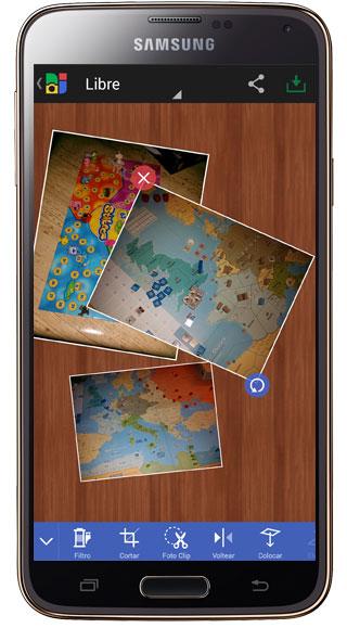 Resultado en Photo Grid – Collage Maker