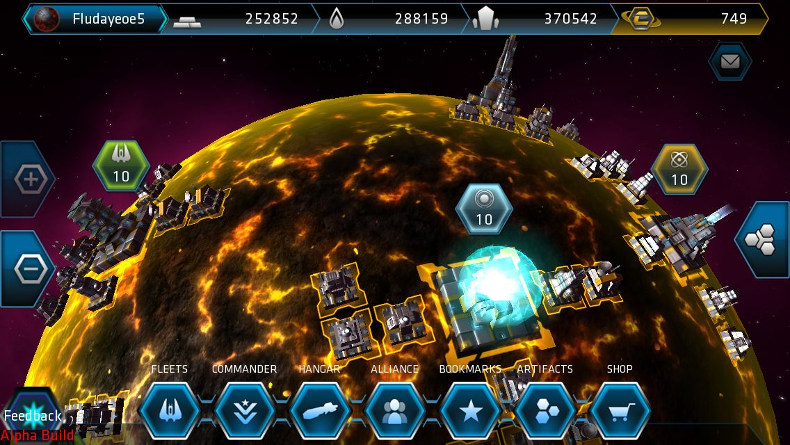 Juego Android Galaxy on Fire