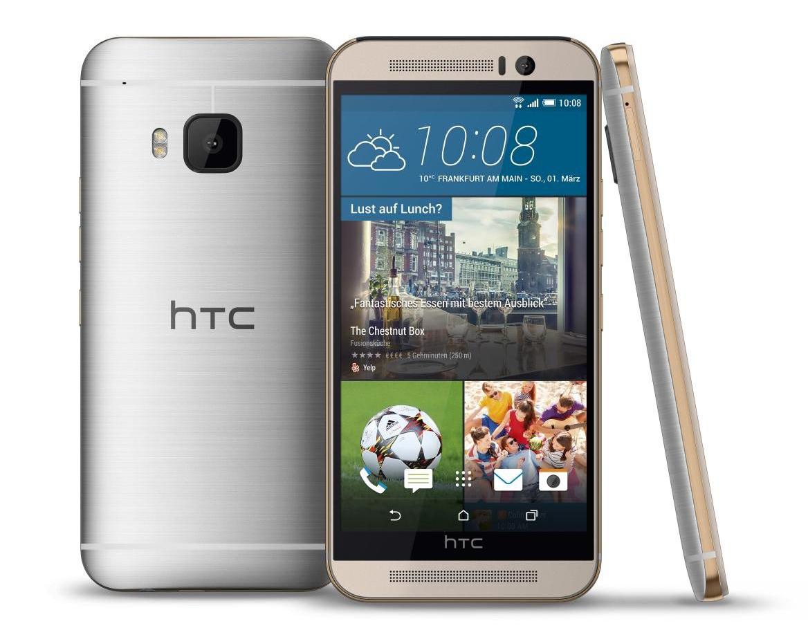 Detalles del HTC One M9