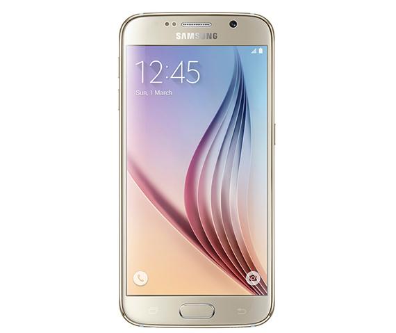 Frontal del Samsung Galaxy S6