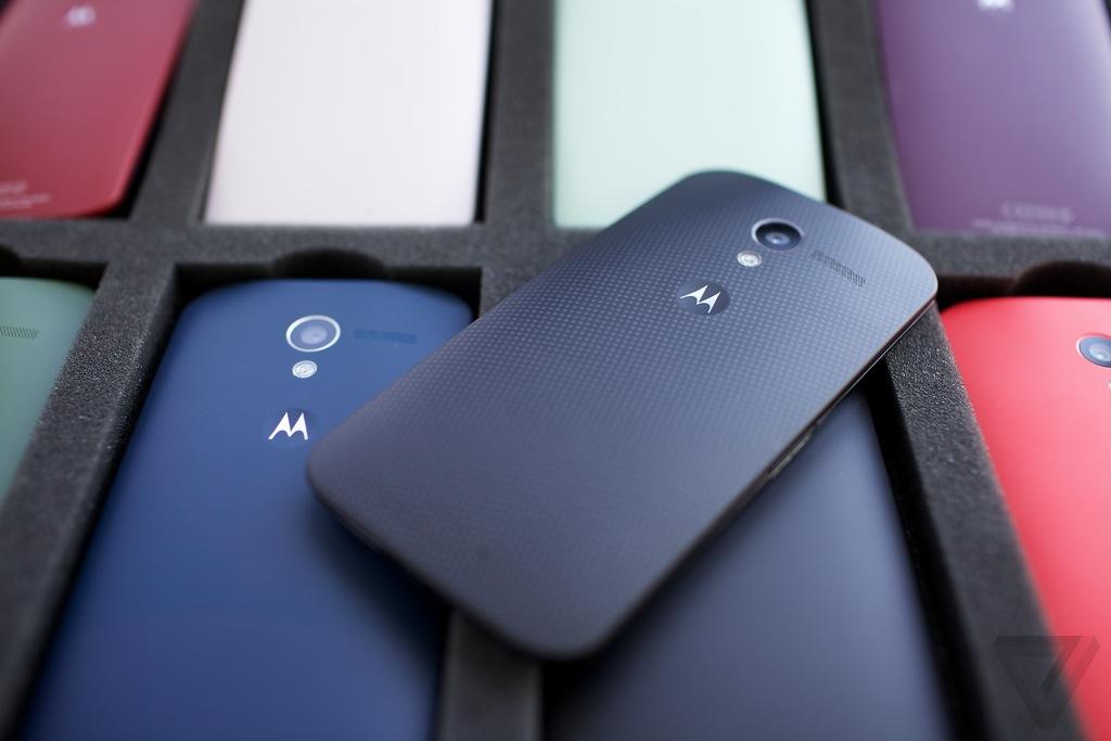 Trasera del Motorola Moto X