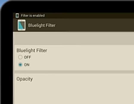 Bluelight Filter Portada