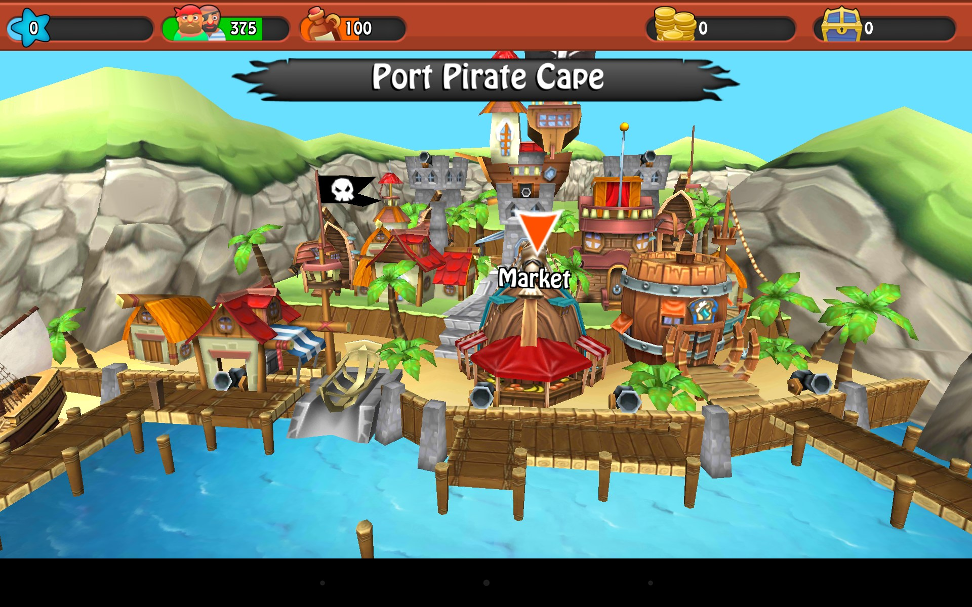 Juego Age of Wind 3 para Android