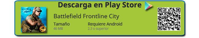 Botón de descarga de Battlefield Frontline City