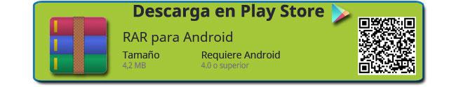 Descarga de RAR para Android