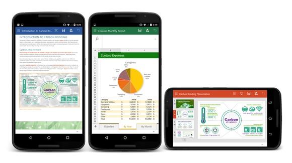 Microsoft Office para móviles AndroidMicrosoft Office para móviles Android
