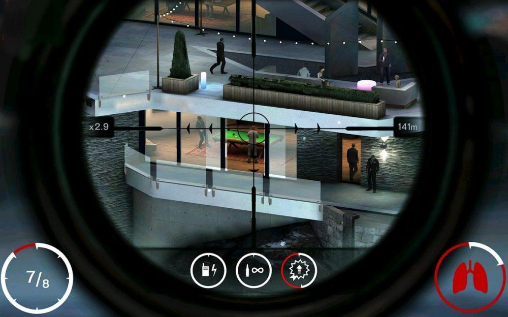Juegos francotirador Android Hitman: Sniper