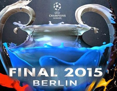 Imagen de la final de la Champions entre Barça y Juve