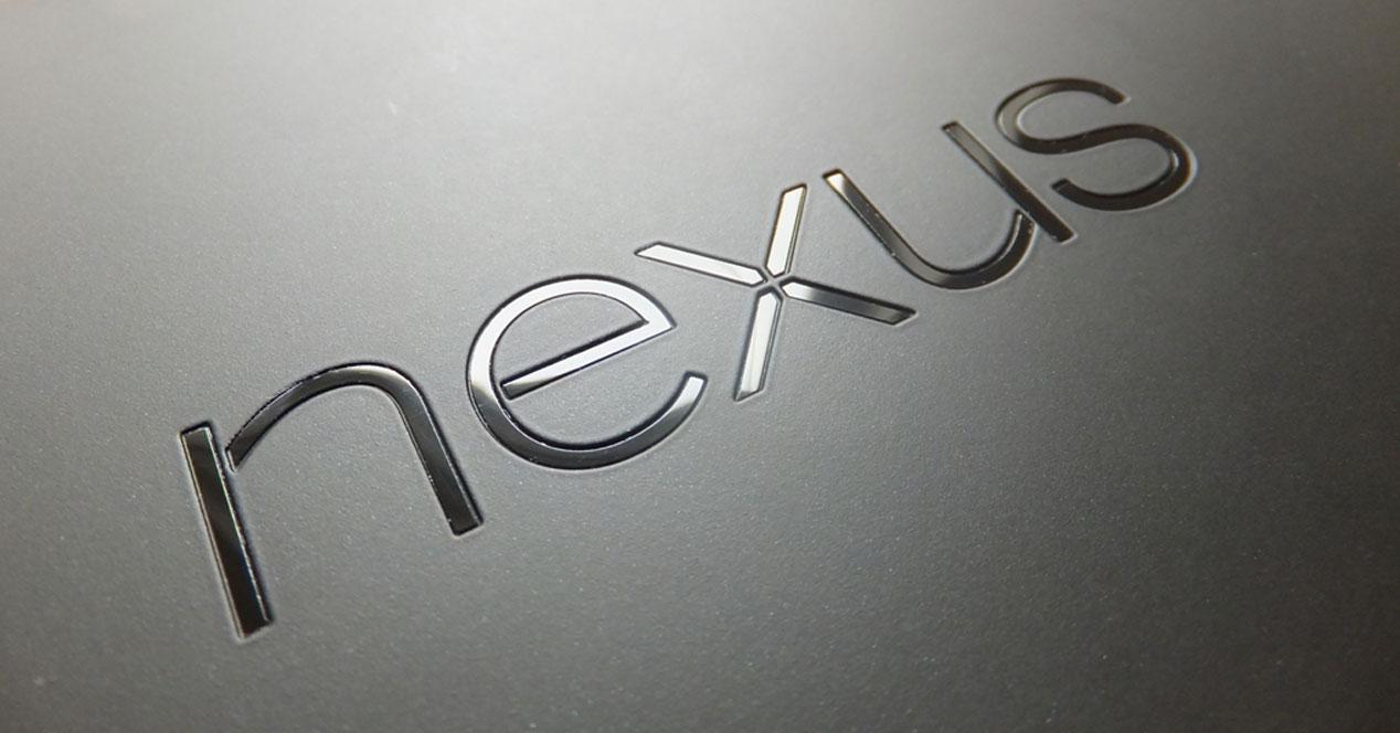 Logotipo parte trasera de Nexus