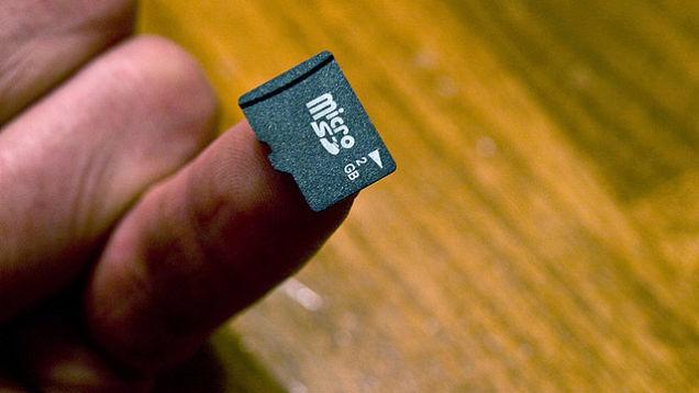 Tarjeta de memoria tipo microSD