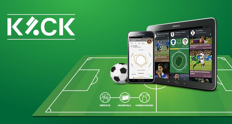 Aplicación Kick de Samsung