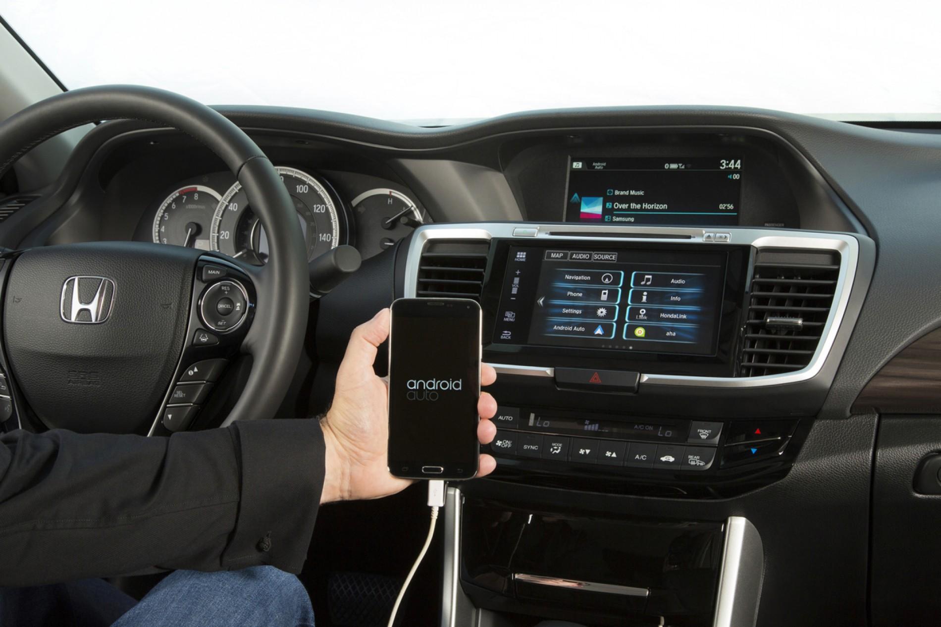 Uso de Android Auto en el Honda Accord 2016