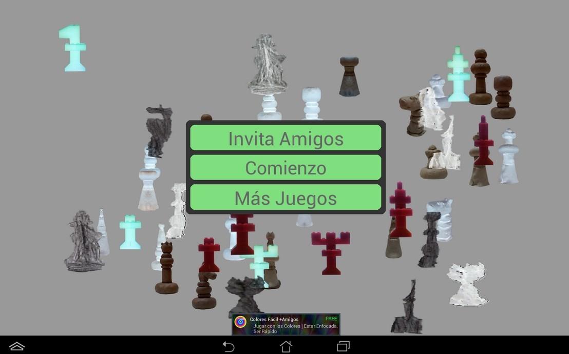 Juego ajedrez android para niños