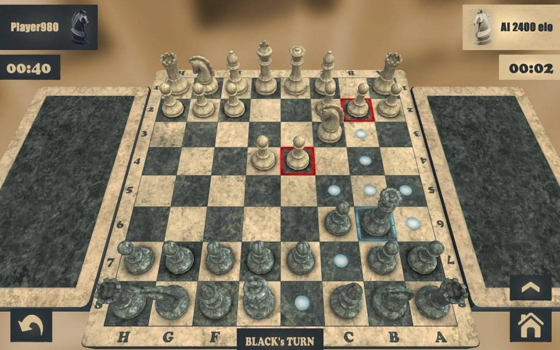 Juego de ajedrez para Android