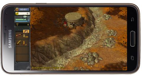 Jugando a Hills of Glory 3D