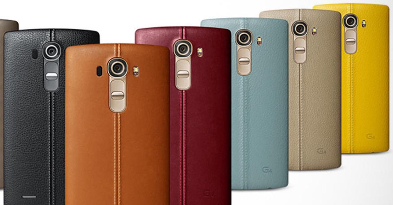 LG G4 Portada