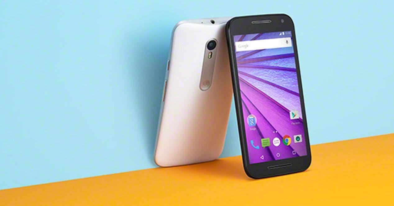 Motorola Moto G 2015 Portada