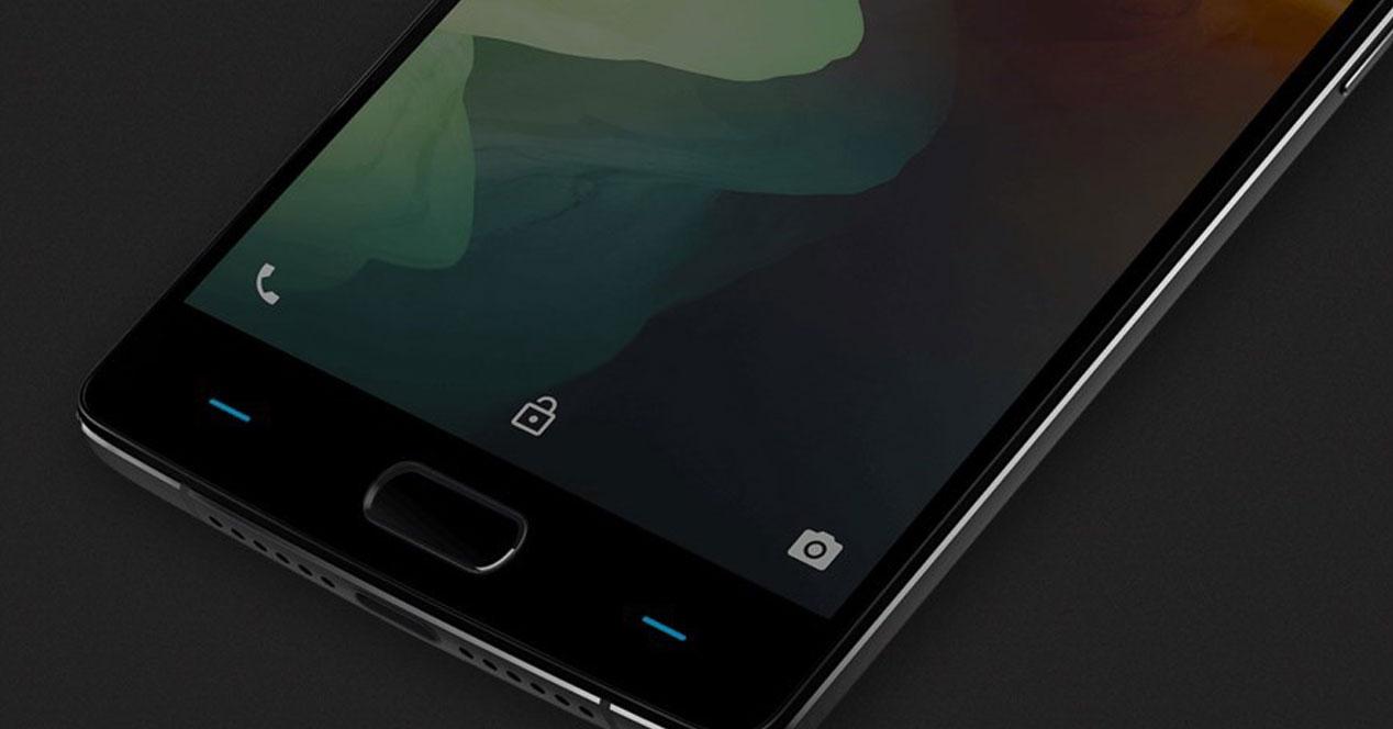 Imagen del frontal del OnePlus 2