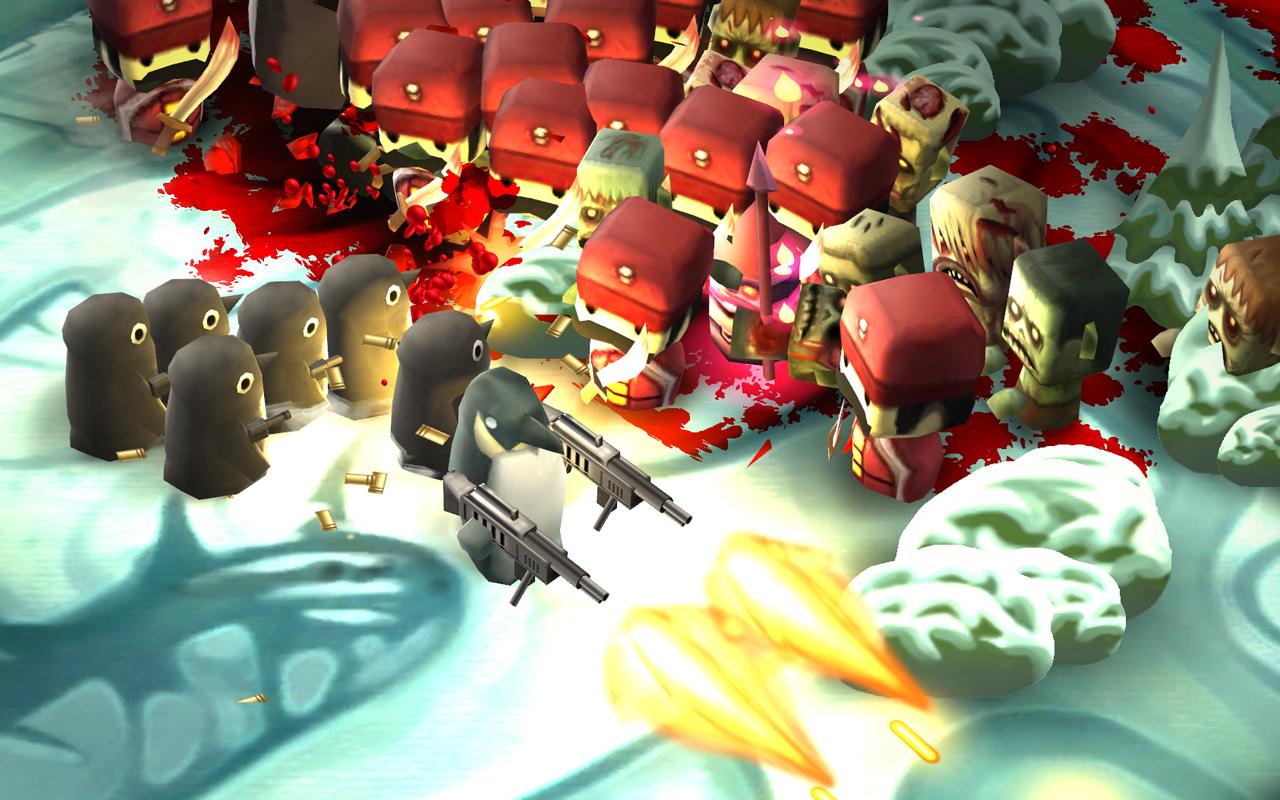 Juego Android Minigore 2: Zombies