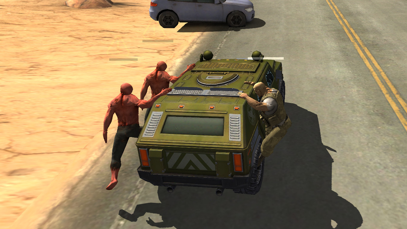 Juego Android Zombie Highway
