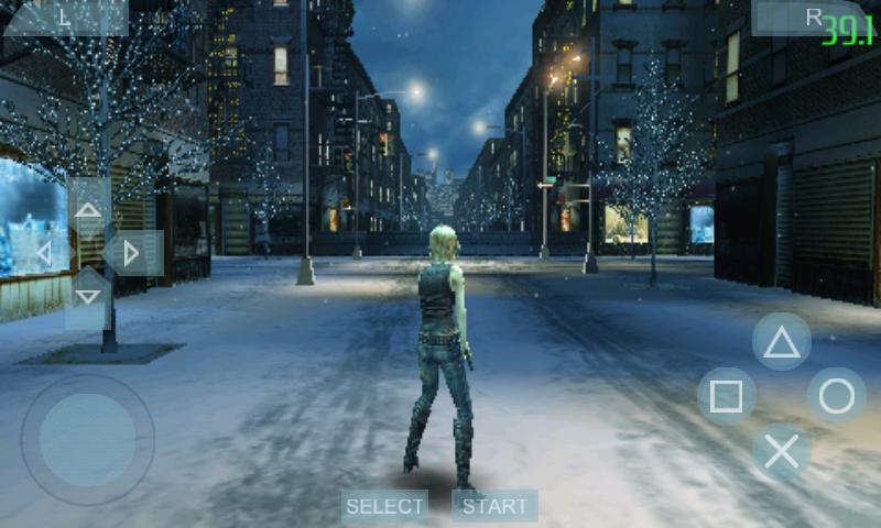 JUgando con el emulador Android PPSSPP - PSP emulator