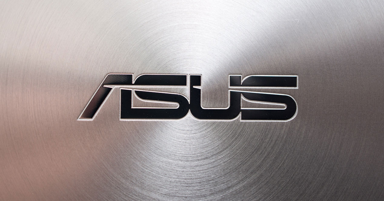 Logotipo de la compañía ASUS